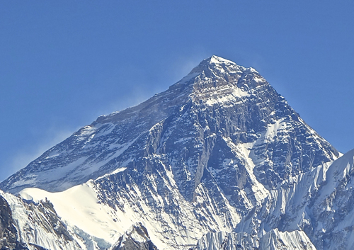 Monte Everest - photo by Wikipedia.org