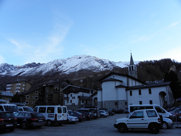 Pochissima neve in paese