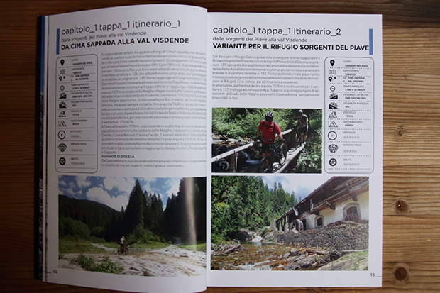 Wild Mountainbike Volume 2 - Itinerario