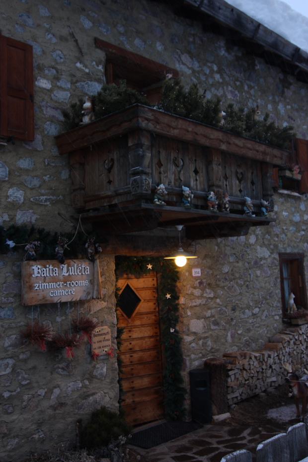 B b baita luleta livigno so for Piccole case di montagna