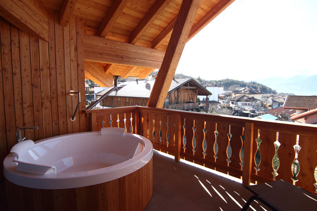 Pineta Hotels, Junior Suite Ciclamino Balcone con Jacuzzi