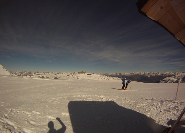 Panorama sulle piste Geister
