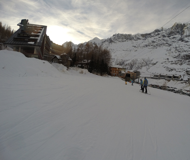 Cervinia quota 2000 mt.