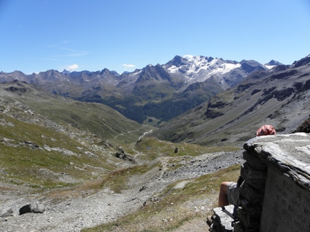 Panorama dal Col du Mont